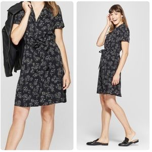 A New Day Abstract Face Print Dress Size Large